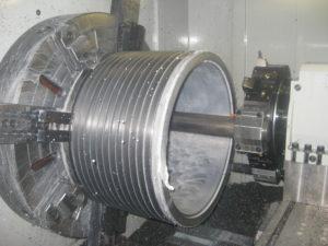 "Large Diameter CNC Turning up to 46"" Diameter and 80"" Long"